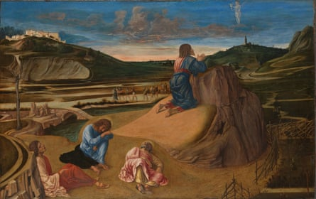 Bellini's The Agony in the Garden, 1458-60.