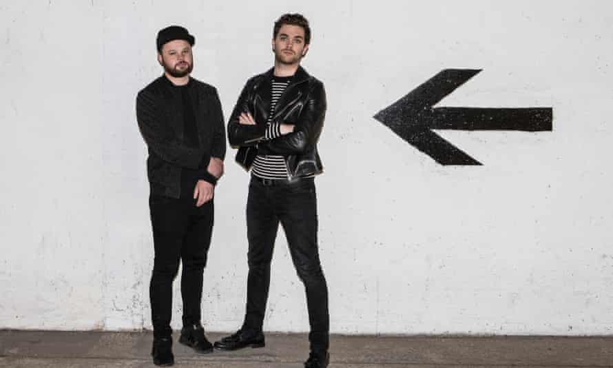 ben thatcher and mike kerr of royal blood
