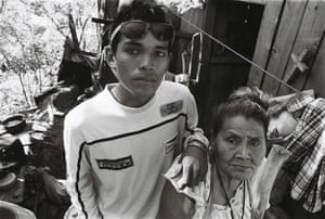 Franklin at 15, and Maria Enma, 72, in 2015
