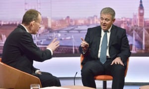 Brandon Lewis on The Andrew Marr Show
