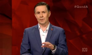 Mark Butler appears on ABC TV's Q&A on Tuesday night.