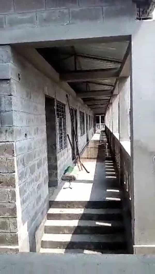 A still from footage shot in buildings constructed to house Rohingya refugees on Bhasan Char