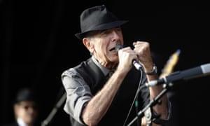 Preservando a mágica ... Leonard Cohen.