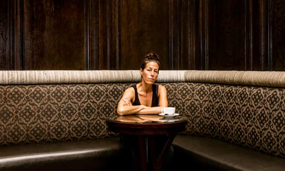 Ariel Leve, photographed at the Algonquin hotel, New York, in May.