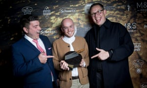 James Hill, Jack Wakelin and James O'Hara of Public in Sheffield, winner of Best Place to Drink