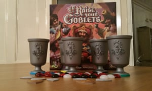 Raise Your Goblets board game