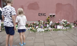 A memorial service is held for Eric Torell in Stockholm, Sweden.