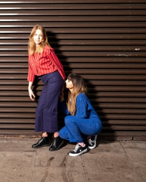 Natasia Demetriou and Ellie White.