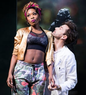 Disturbing ambivalence … Dominique Moore and David Tennant in Don Juan in Soho.