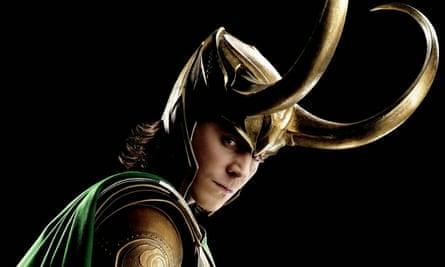 Tom Hiddleston as Loki in Avengers Assemble.