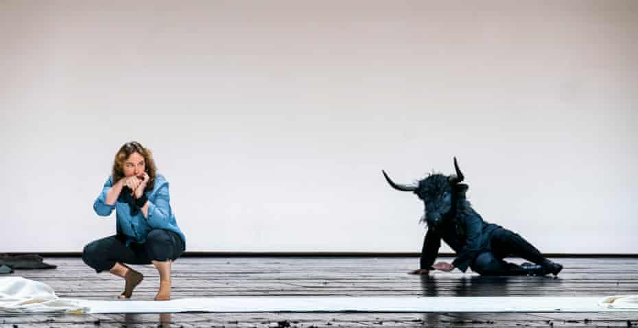 Christine Rice and Andres Presno in Fedra at the Royal Opera House.