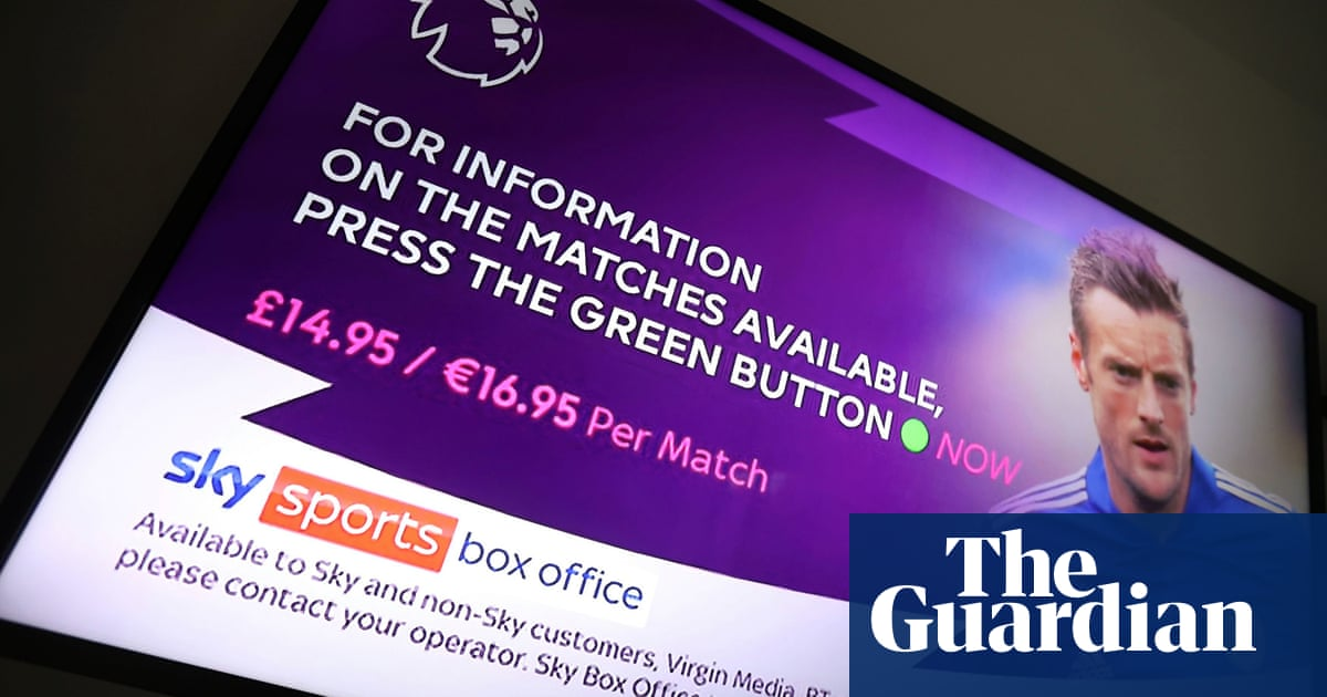 UK TV streaming subscribers can no longer access live sport when in EU