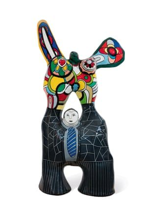 One of Williams favourite art works: Niki de Saint-Phalle's Le poète et sa muse