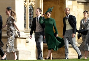 James Middleton and Philippa Matthews, the siblings of Catherine, Duchess of Cambridge, and Matthews' husband, James