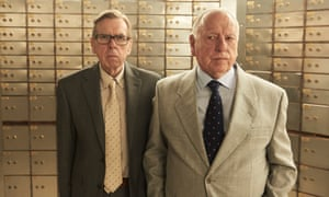 Timothy Spall and Kenneth Cranham in Hatton Garden