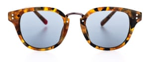 Conrad Havana tortoiseshell sunglasses, £185, by Oliver Spencer.