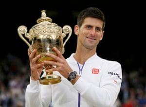 Novak Djokovic, Wimbledon Champion 2015.