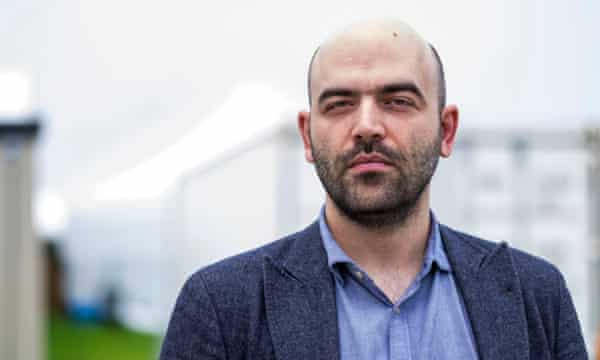 My own work is influenced by these precedents, especially the decision to adopt the sole viewpoint of the criminal ... Roberto Saviano.