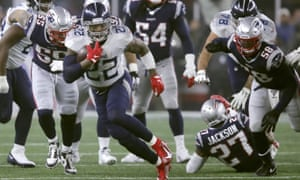 Derrick Henry rushed for rushed for 182 yards and a touchdown as the Titans saw off the Patriots.