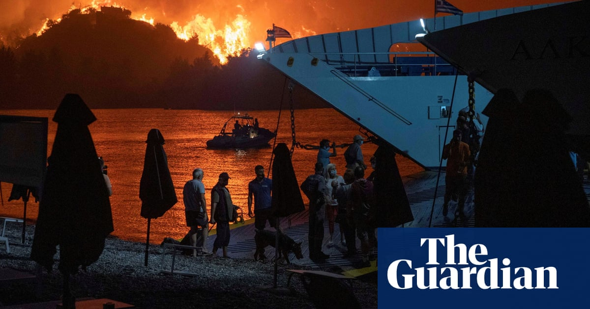 UK sends firefighters to Greece to help the battle against wildfires