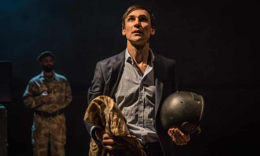 Henry Lloyd-Hughes plays Stewart in Occupational Hazards at the Hampstead theatre in 2017.
