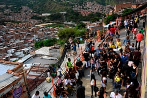 With 25,000 visitors per month, tourism has become a means to discourage violence in Medellin