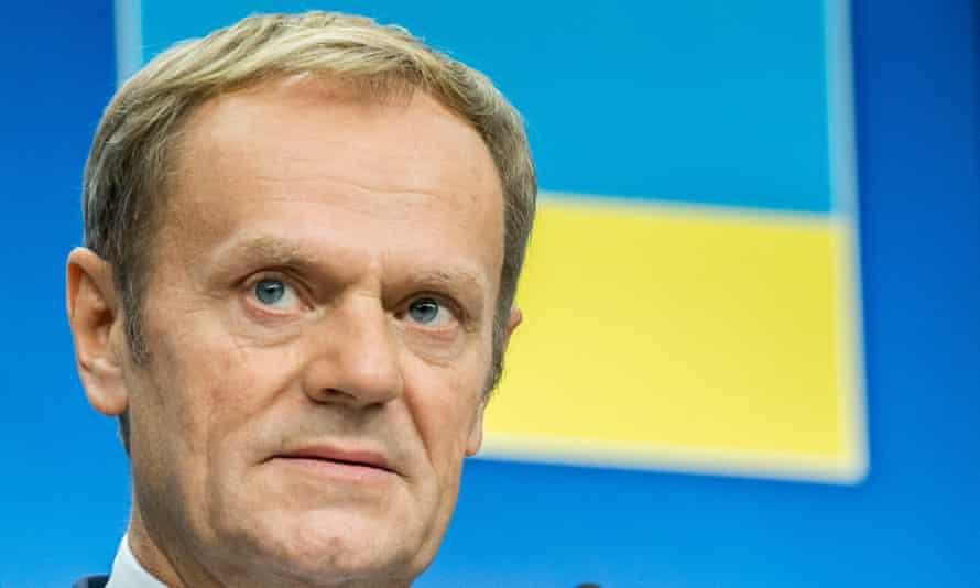European council president, Donald Tusk.