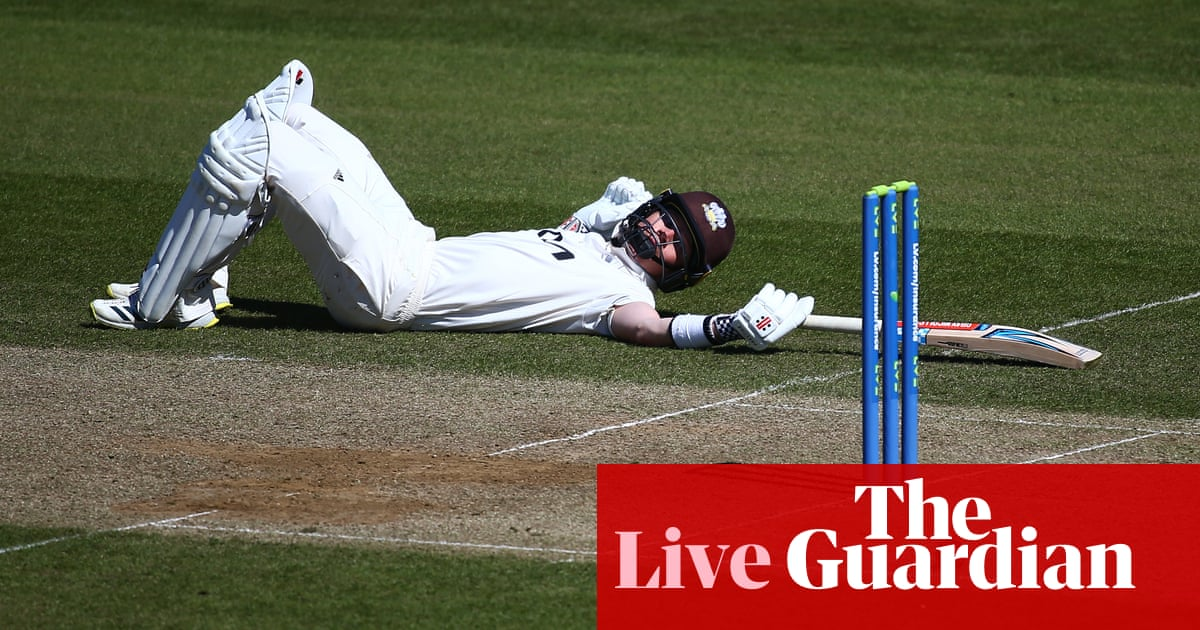 Pope hits 245 for Surrey: county cricket – as it happened | Sport