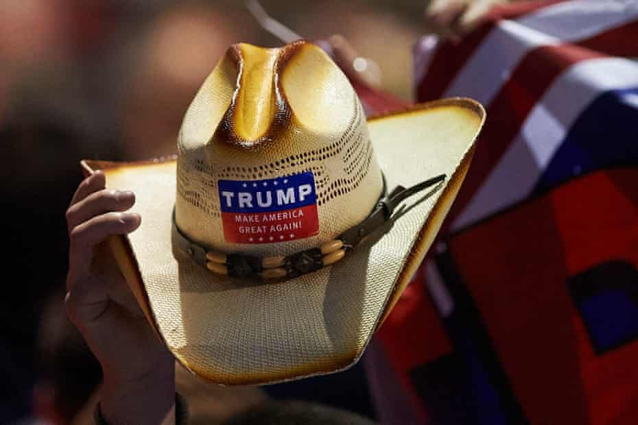 Trump supporters' hat