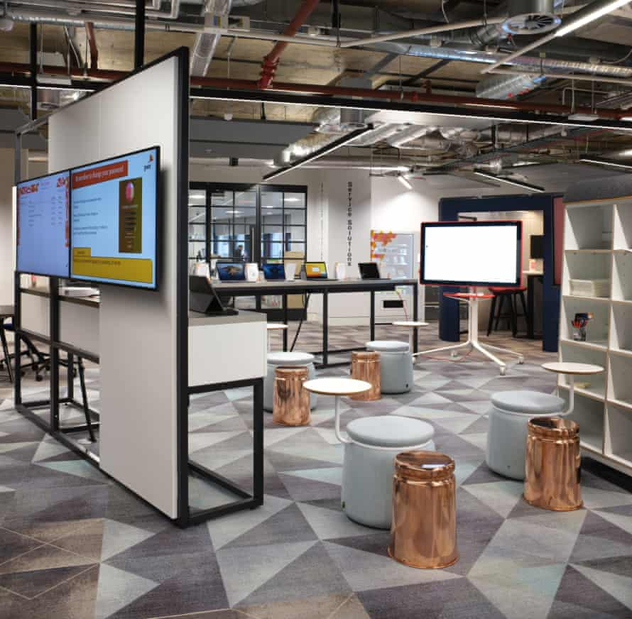 PwC's newly redesigned Birmingham site