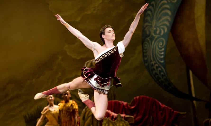 Polunin in Sylvia by the Royal Ballet in 2010.