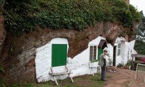 Fletcher's Cottage at Kinver Edge.