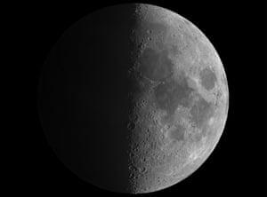A classic half-moon image.