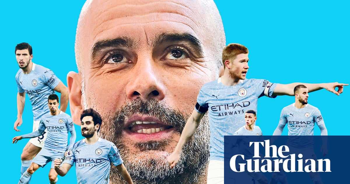How Guardiola transformed misfiring Manchester City into champions elect