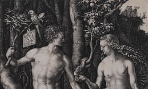 Albrecht Dürer's Adam and Eve