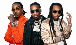 Migos: Quavo, Offset and Takeoff.