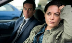 'It's a rare thing, to see such onscreen chemistry': Killian Scott and Sarah Greene in Dublin Murders.