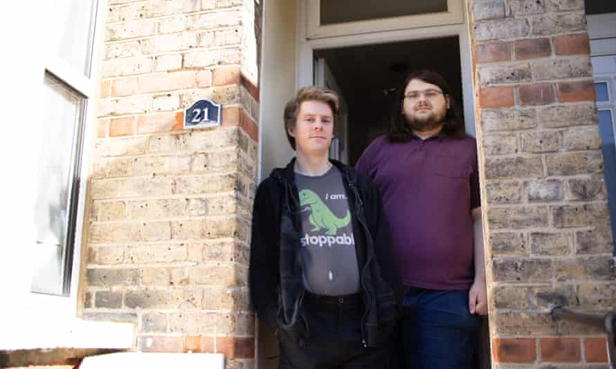 George Smith and Paul MacKinnon are facing eviction because of Covid rent arrears