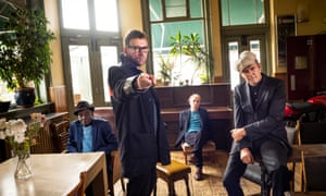 The Good, the Bad & the Queen (l-r Tony Allen, Damon Albarn, Simon Tong, Paul Simonon): 'the emotional temperature here is righteous'.