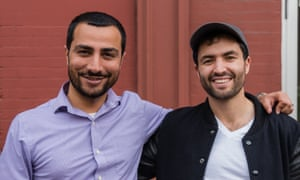 Muneeb Ali (left) and Ryan Shea of Blockstack.