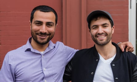 Muneeb Ali (left) and Ryan Shea of Blockstack.
