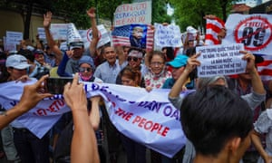US calls on Vietnam to release American citizen arrested in protests