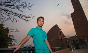 Thangminlal Haokip, (Lalcha) a student at National Law School of India University.