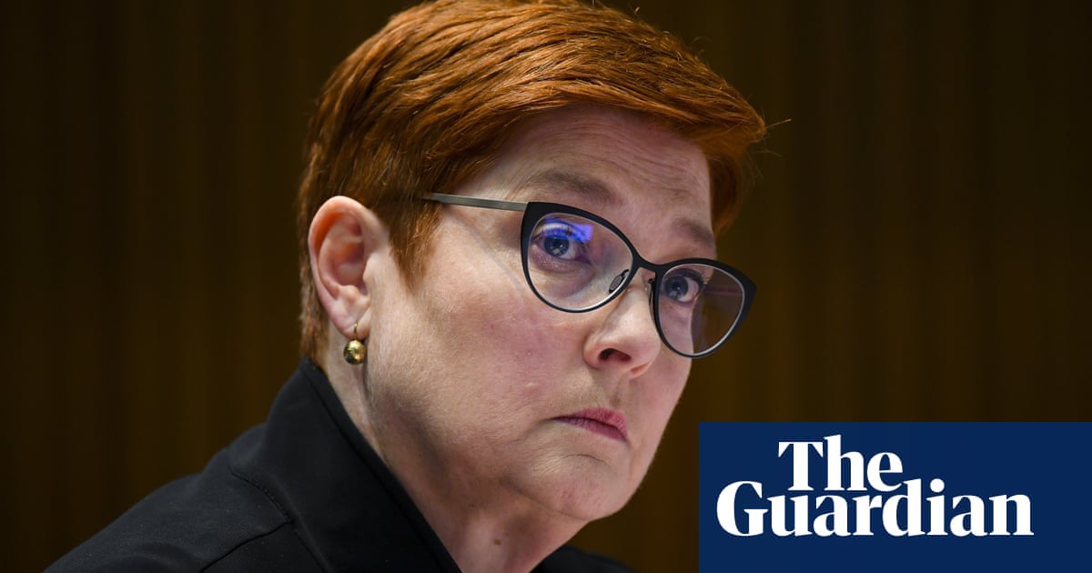 Marise Payne says net zero is government's 'broad position' as she plays down Nationals' climate revolt
