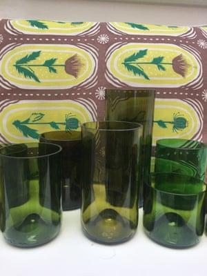 Lucinda Chambers' drinking glasses