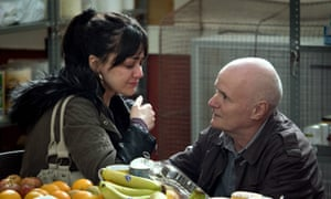 'Heart-clutching': Hayley Squires with Dave Johns in I, Daniel Blake .