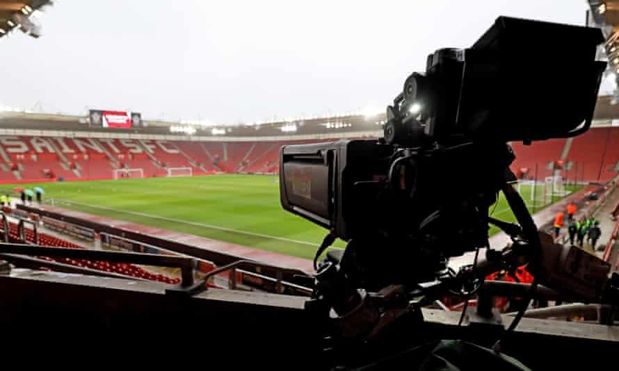 TV camera at Southampton