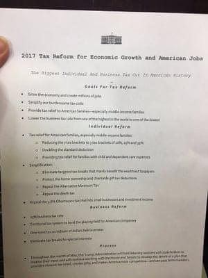 Donald Trump's tax proposals