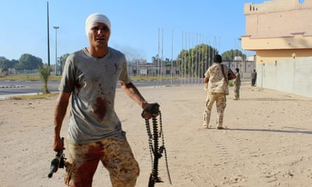 Libyan government soldiers