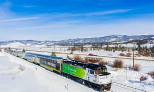The Winter Park Express runs from Denver straight to the ski area.